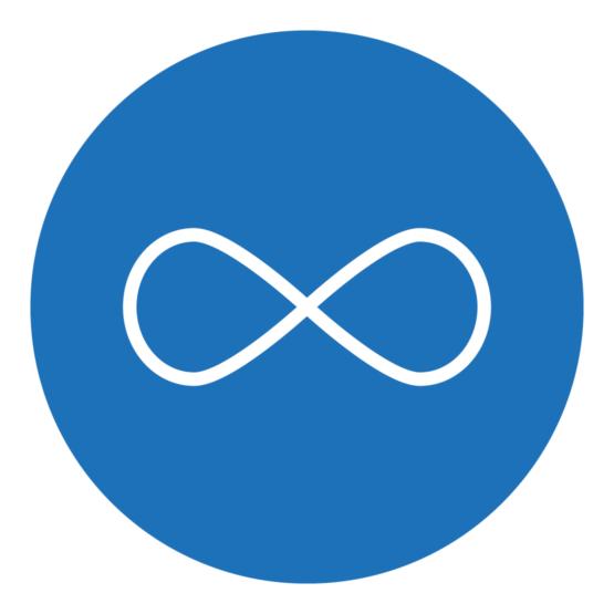 Icon, das eine Unendlichkeitsschleife zeigt