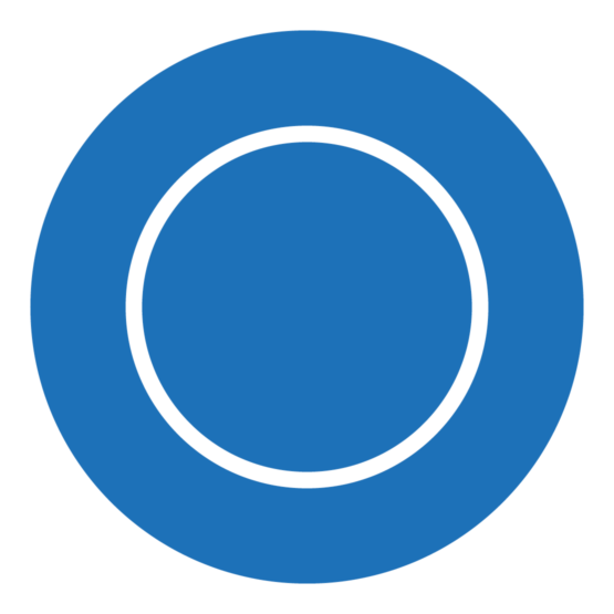 Icon, das einen einfachen Kreis zeigt