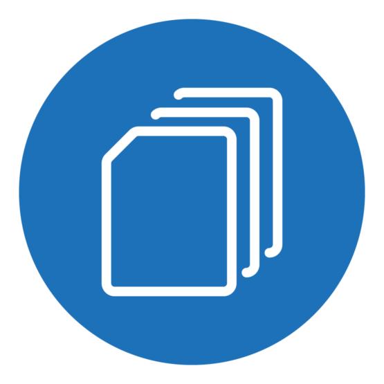 Icon, das skizzenhaft ein Dateisymbol zeigt