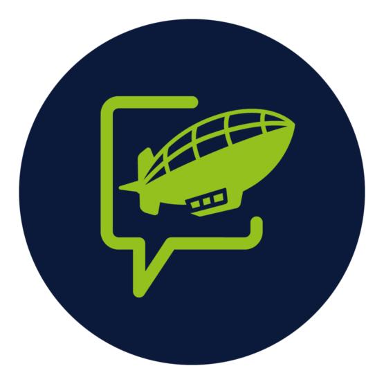 Das Bild zeigt das Bildelement des Sichtflug Logos