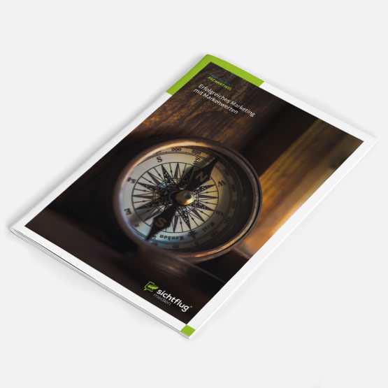 Das Bild zeigt das Cover eines Magazins für den Artikel Erfolgreiches Marketing mit Markenwerten