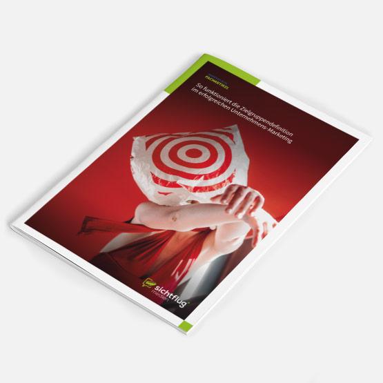 Bild einer Broschüre zum Artikel 3 Fehler im Marketing bei der Zielgruppendefinition